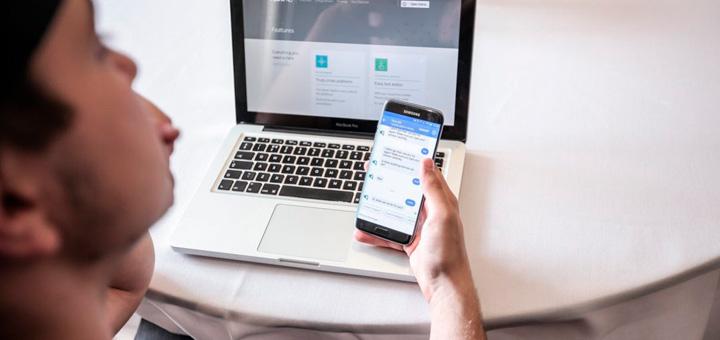 Botones de chatbots en tu página web