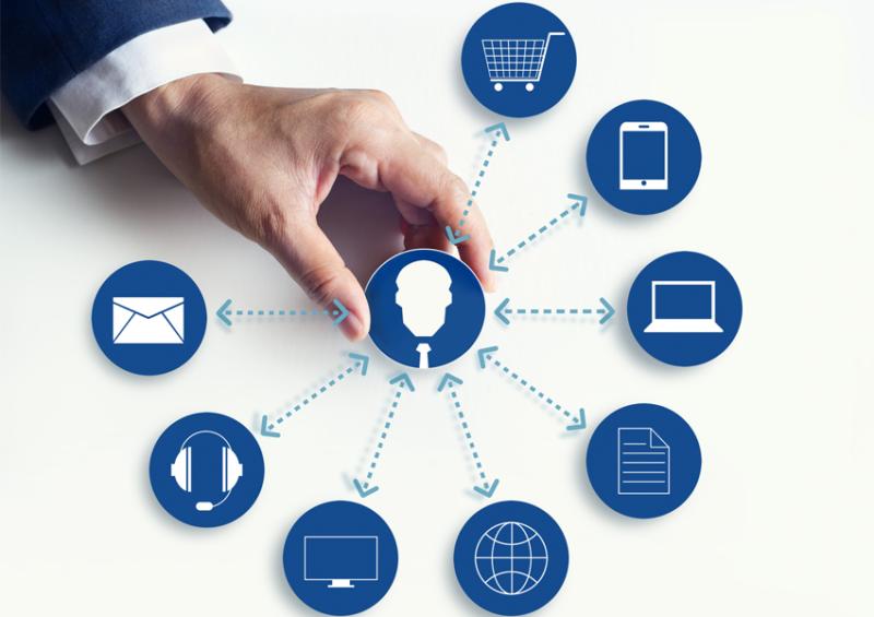 Intercambio de datos e información del cliente